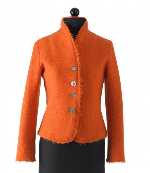Walkjacke orange